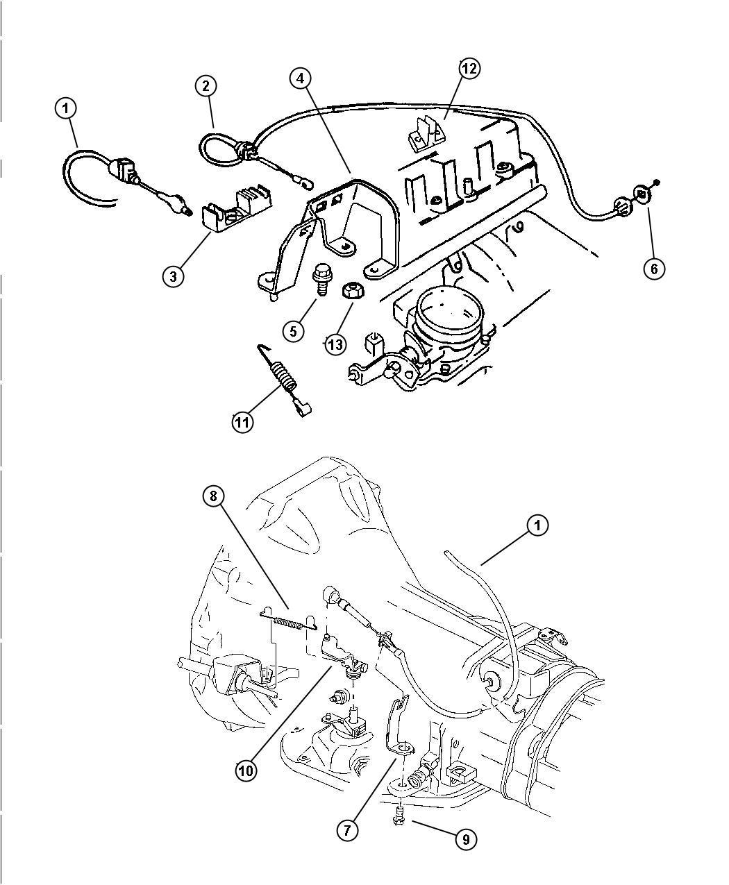 Jeep Wrangler Spring Throttle Return