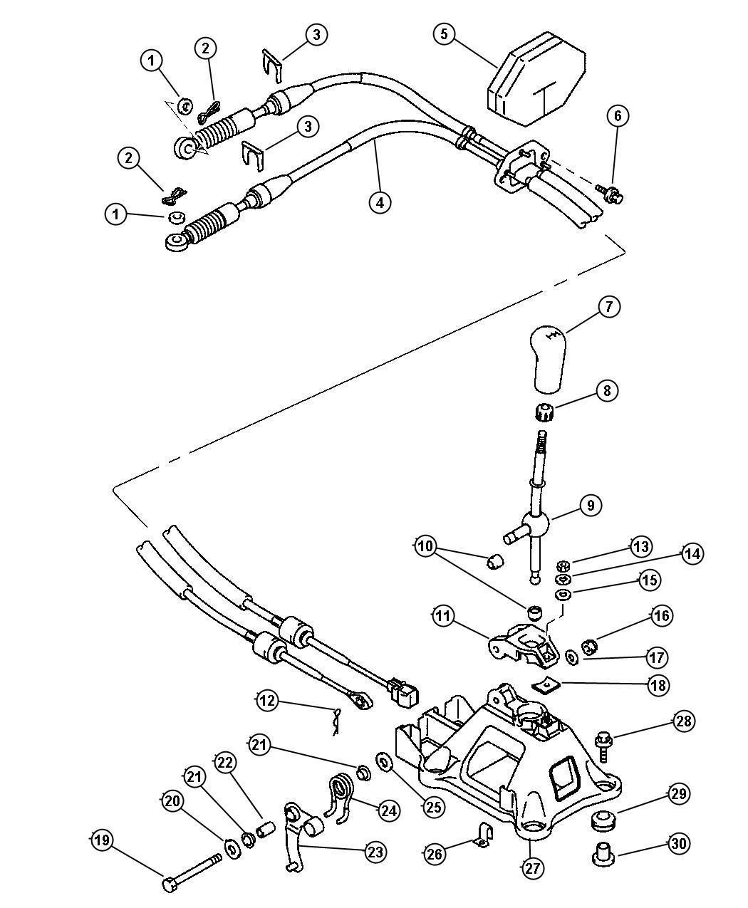 Service manual [Install Shift Cable On A 2007 Chrysler