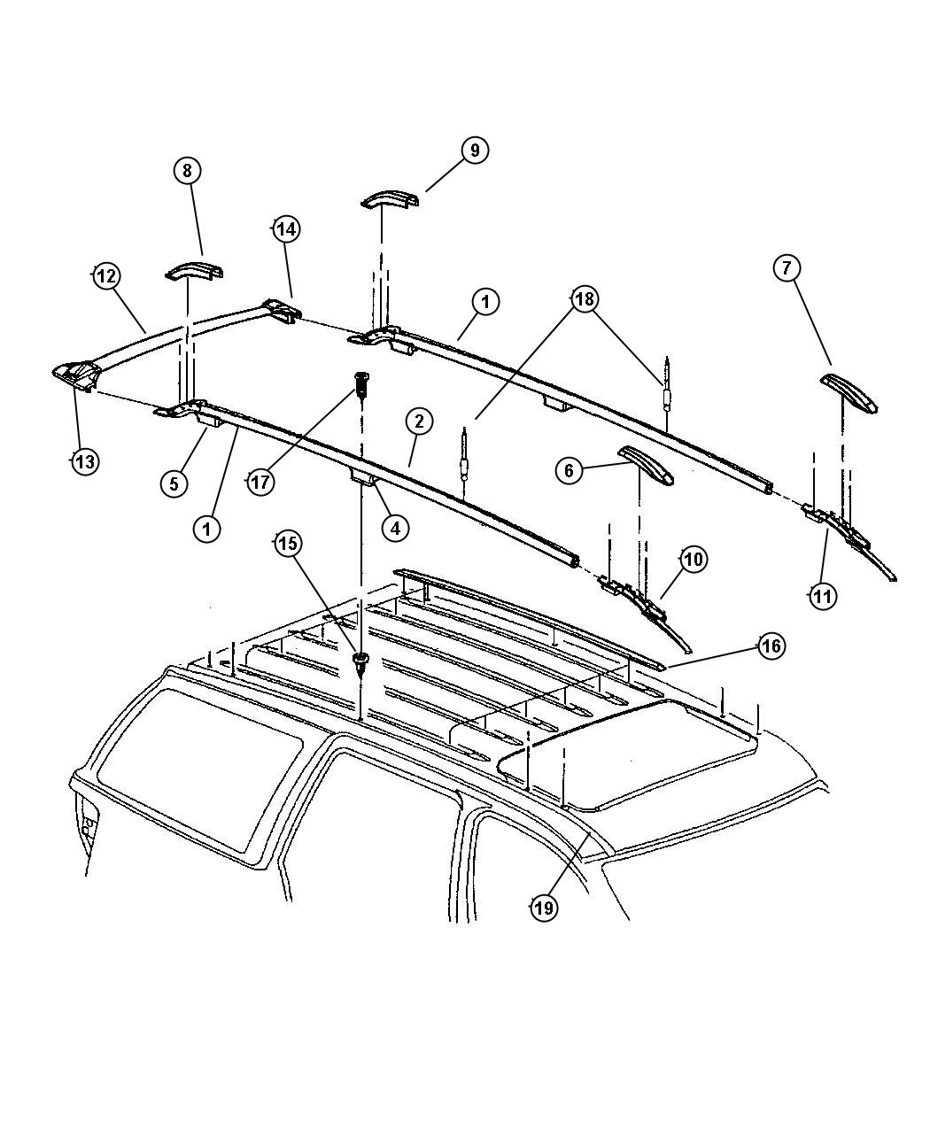 2001 Jeep Grand Cherokee Roof Rack Pictures to Pin on