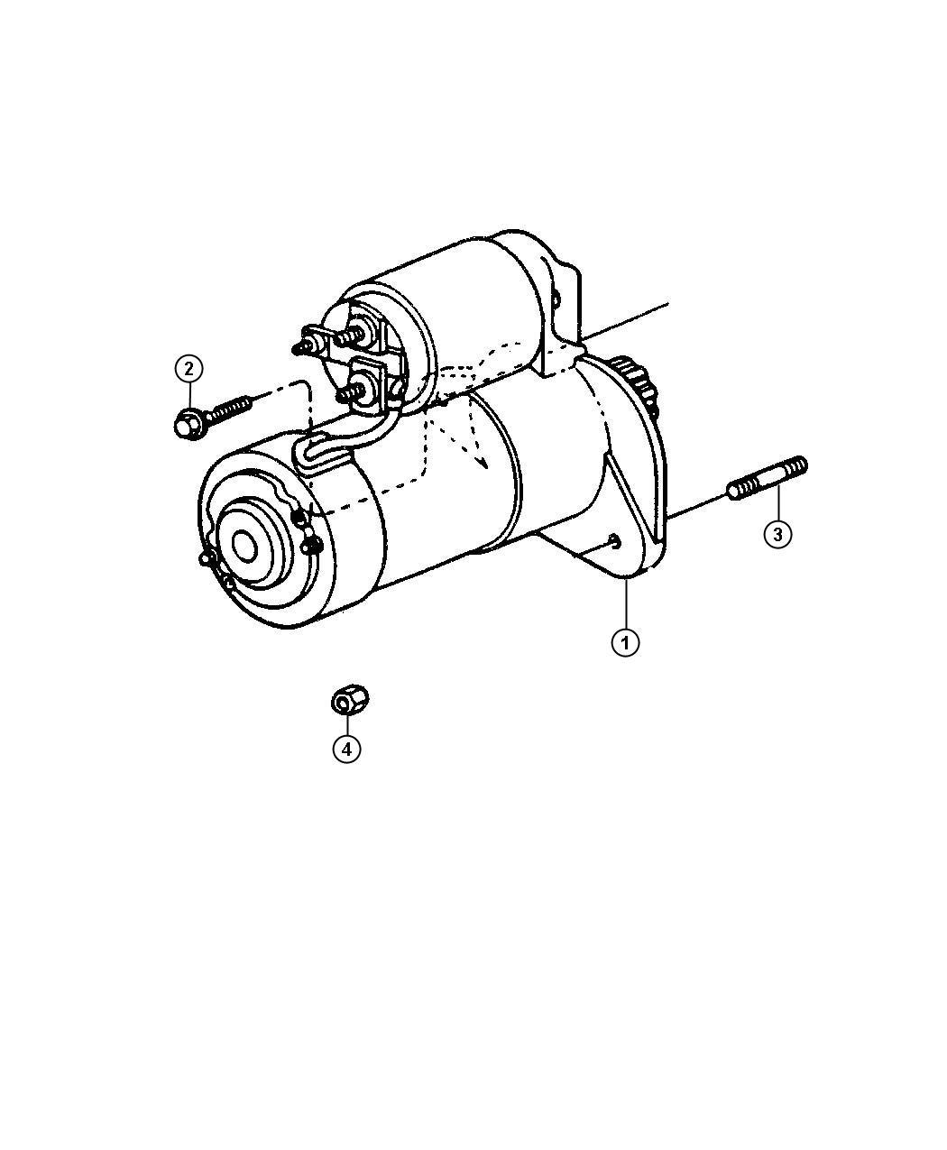 Jeep Wrangler Wiring kit. Jumper. Also comes w/starter