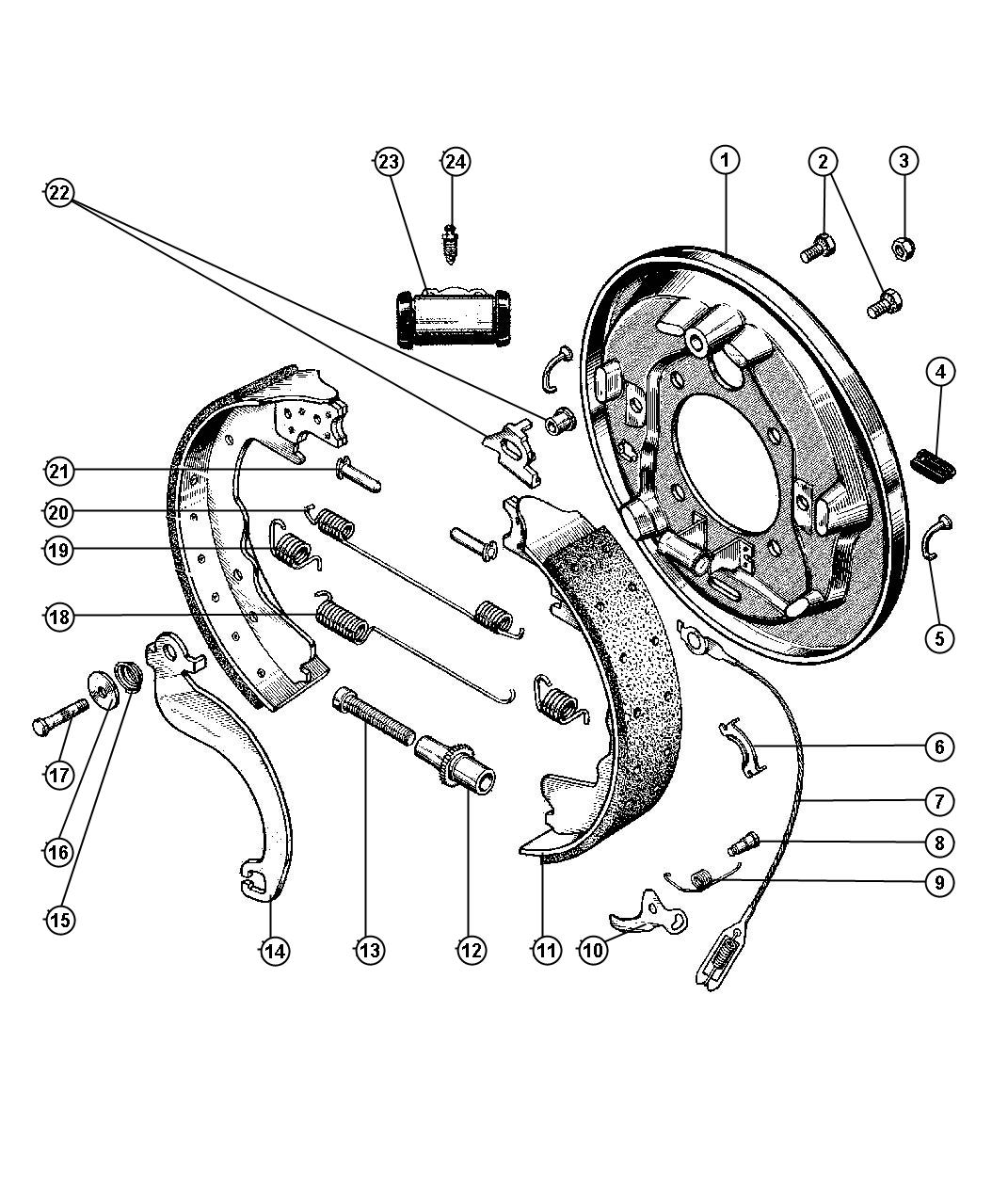 dodge truck parts diagram 24v transformer wiring rear brakes pictures to pin on