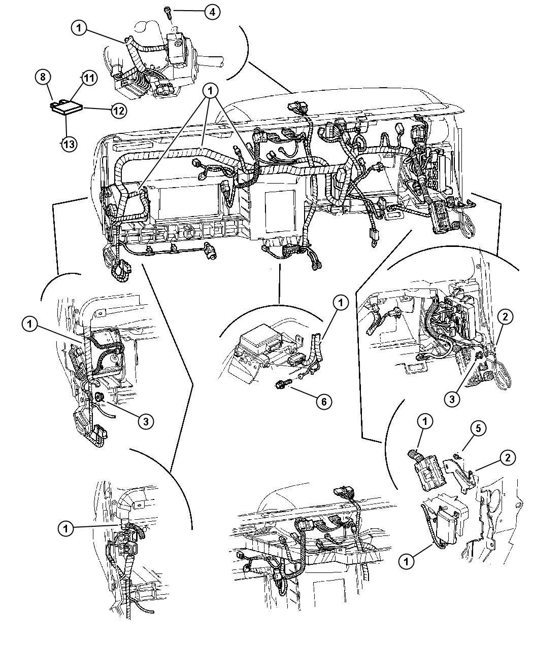 Dodge Dakota Flasher Turn Signal Hazard Turn Signal