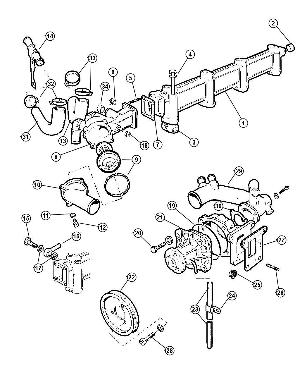 Wiring Diagram: 29 Dodge Ram 1500 Parts Diagram