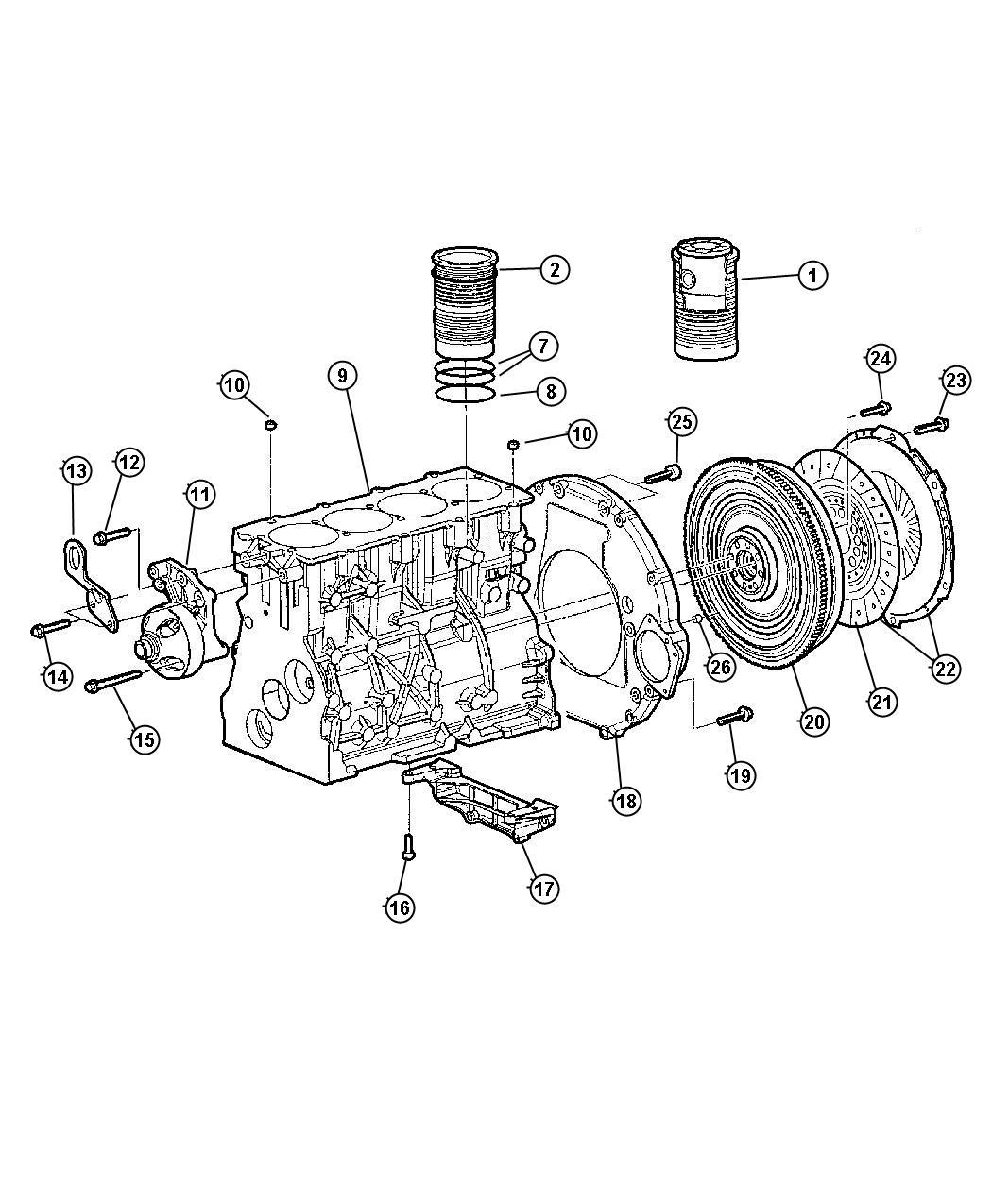 Jeep Wrangler Flywheel