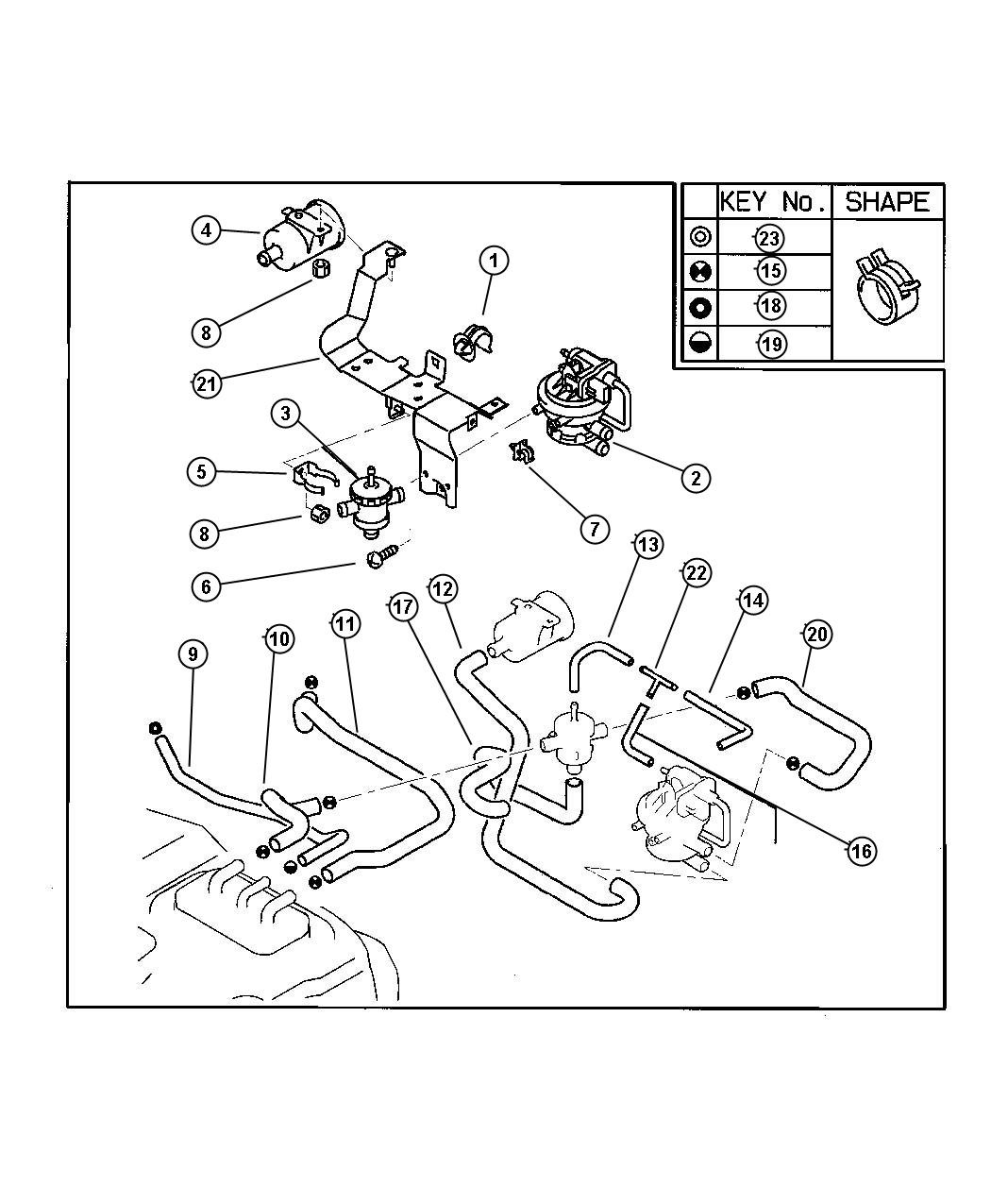 Service manual [How To Remove Vapor Canister 1992 Eagle