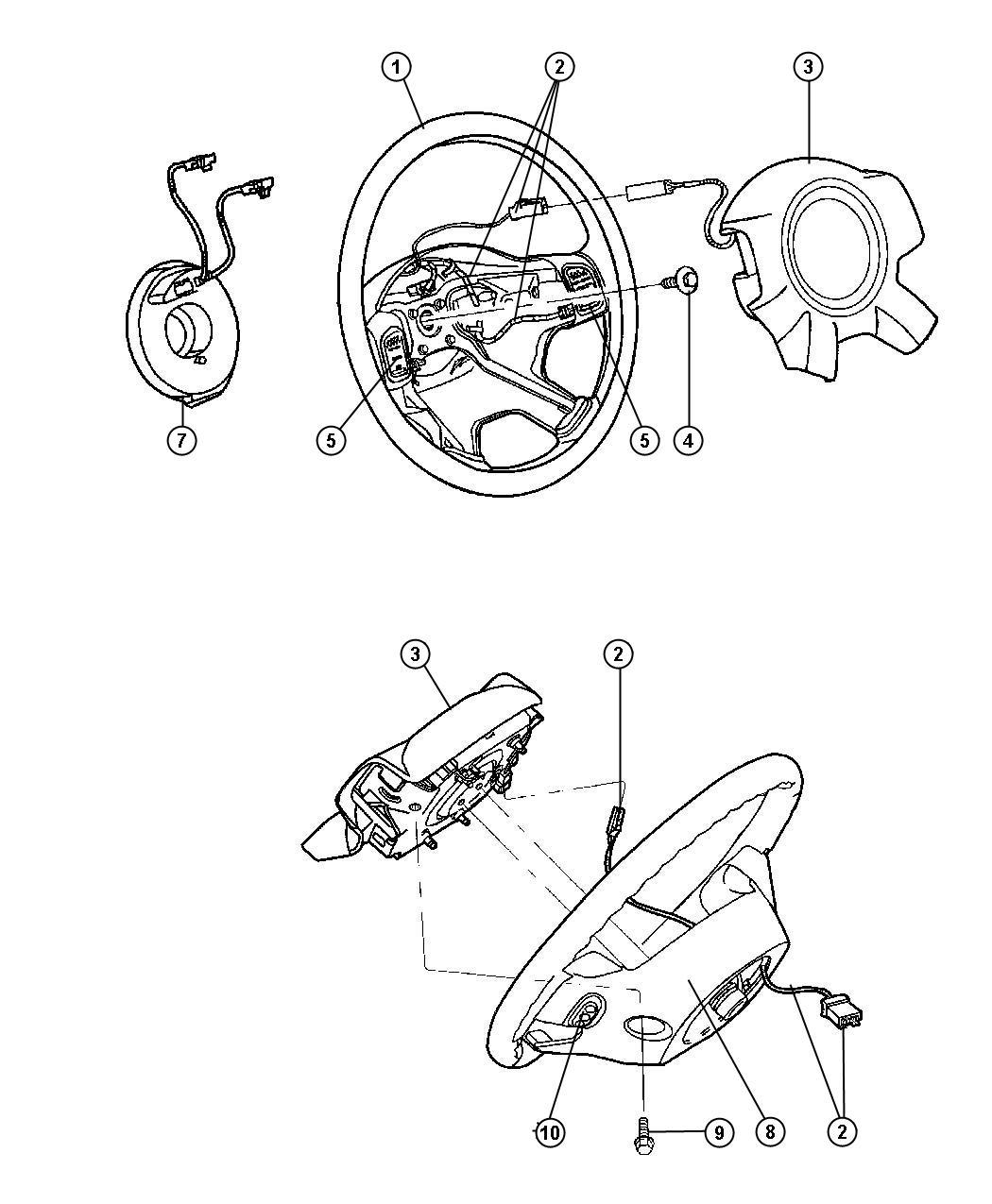 Jeep Liberty Wiring Steering Wheel Trim All Trim Codes