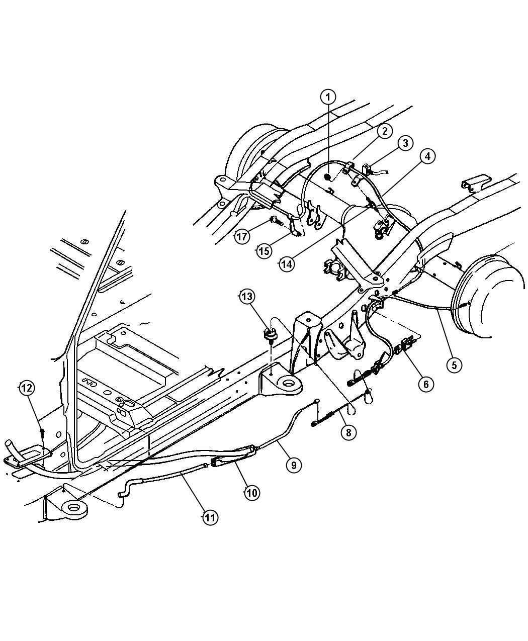 Dodge Dakota Front Disc Brake Diagram