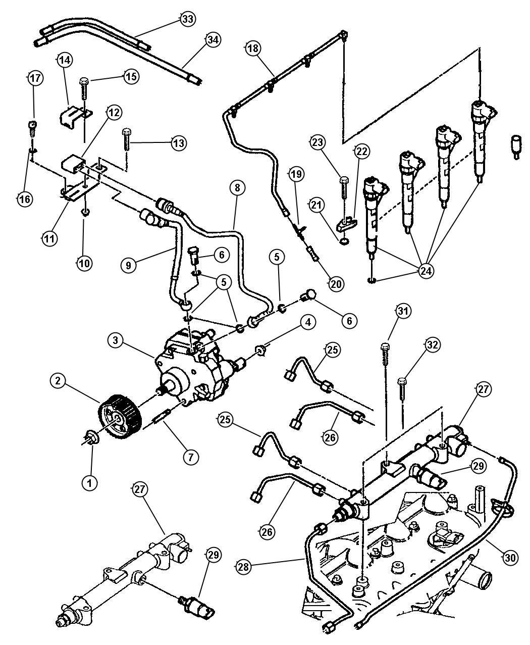 Dodge Nitro Bolt. Banjo. [2.8l i4 turbo diesel engine