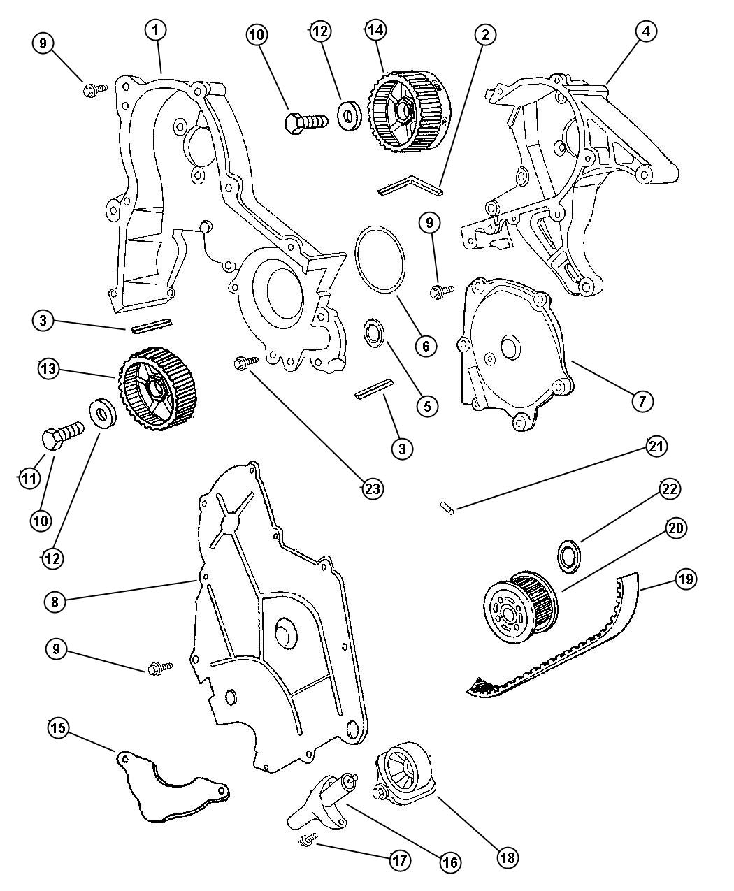 Service manual [2000 Chrysler Lhs Timing Chain Alignment