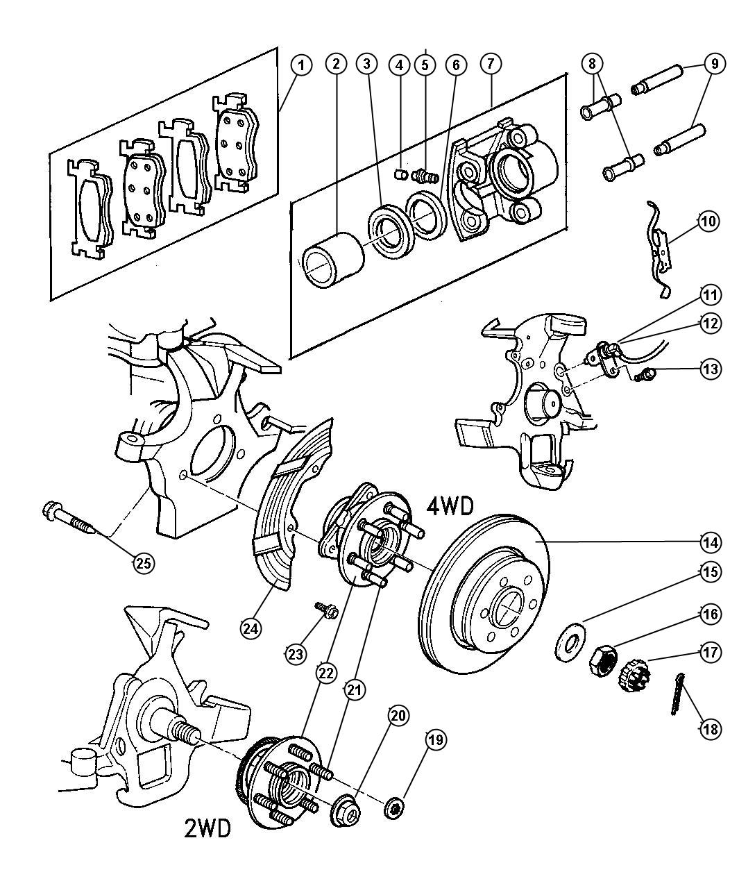 Dodge Dakota Factory Parts Pictures to Pin on Pinterest