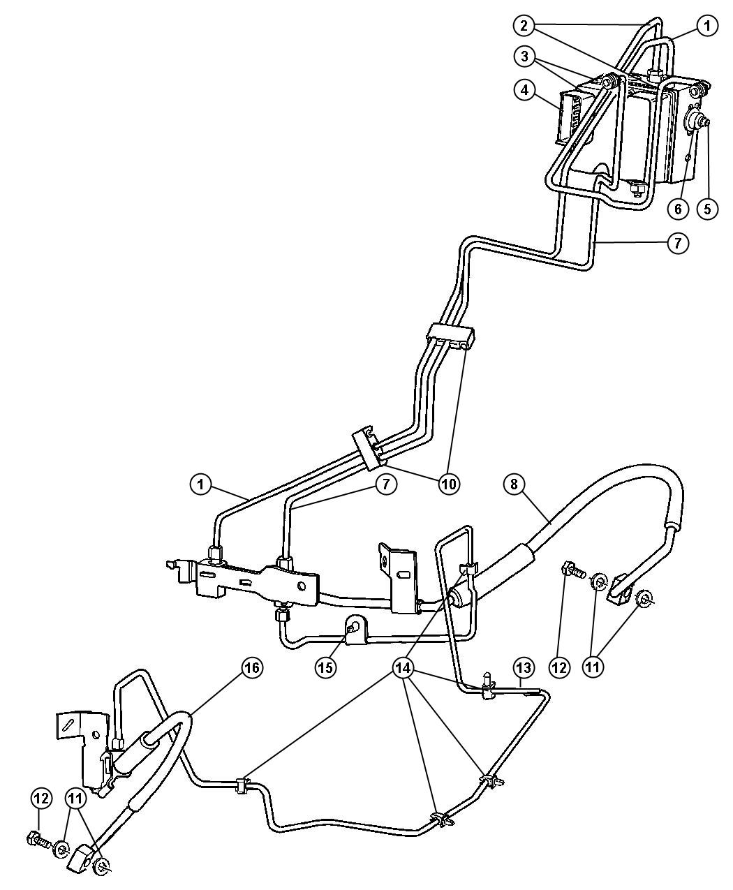 Dodge Dakota Brake Line Diagram Pictures To Pin On
