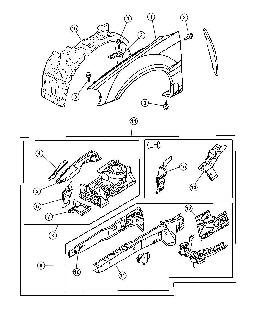 2002 dodge neon engine diagram 360 firing order rear strut free image