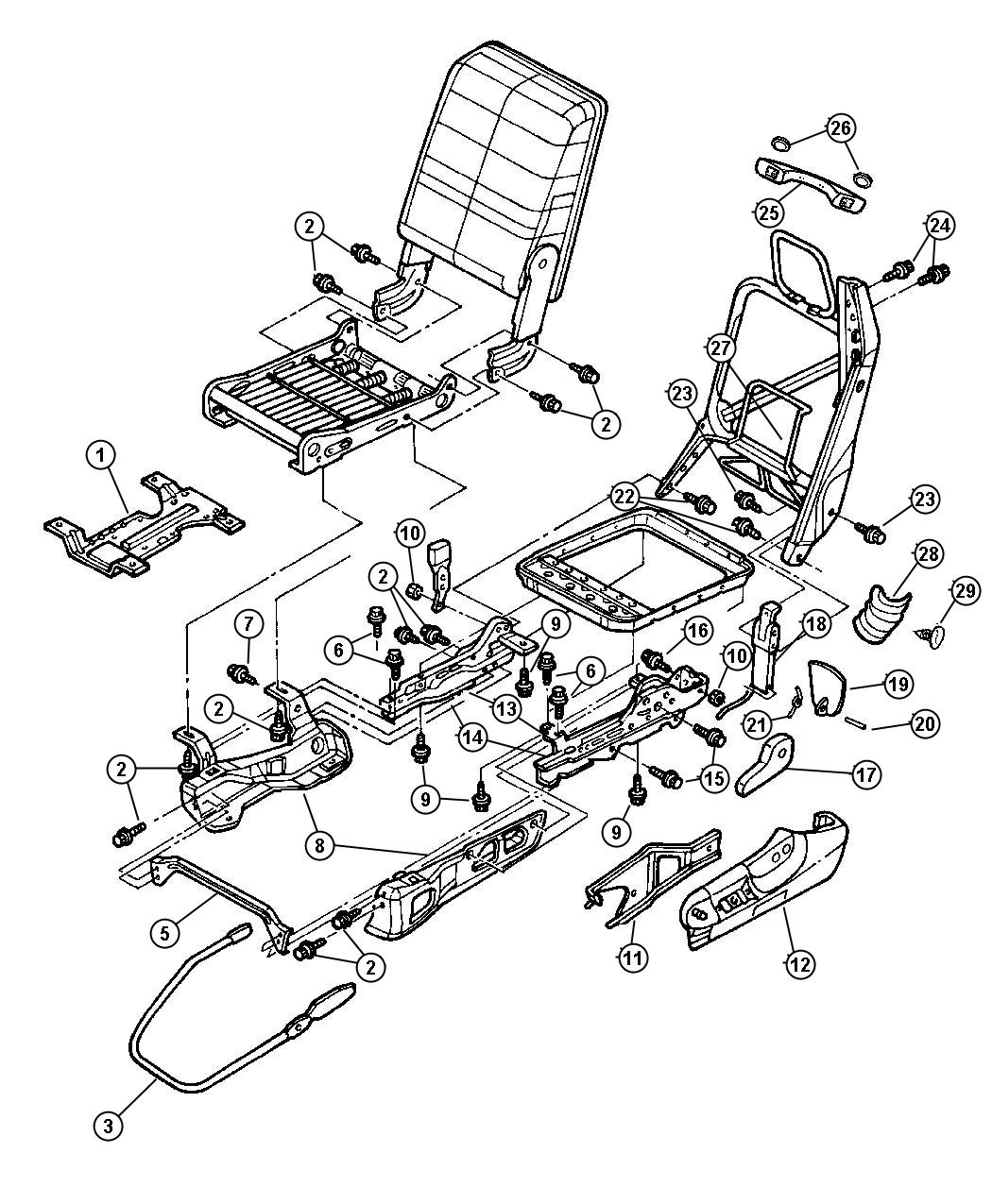 hight resolution of 2006 hummer h2 wiring diagram replacement seats for dodge truck