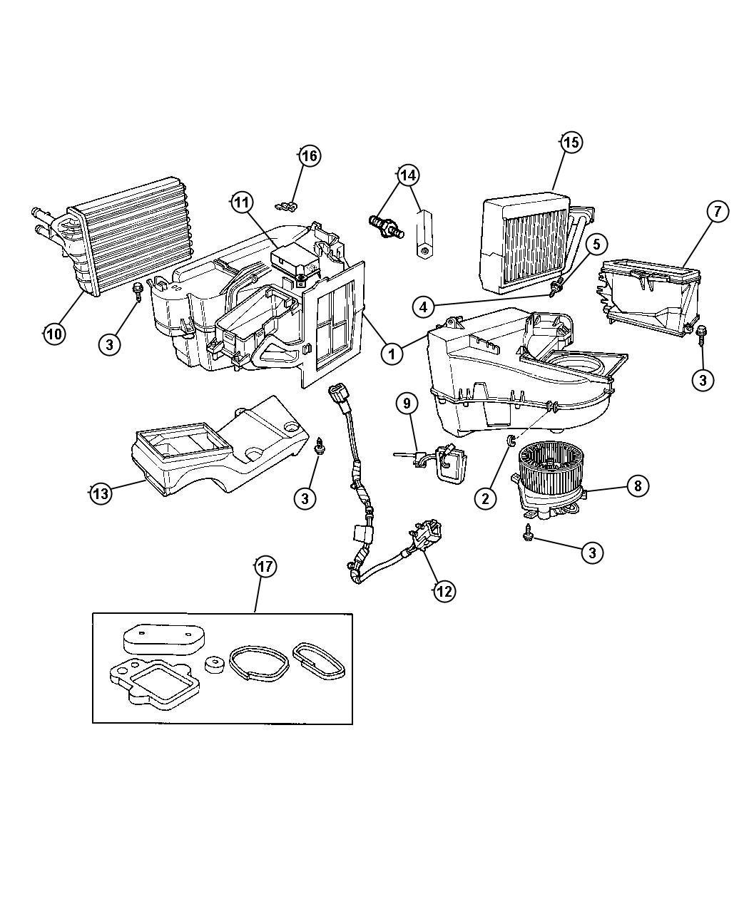 Central Ac Parts