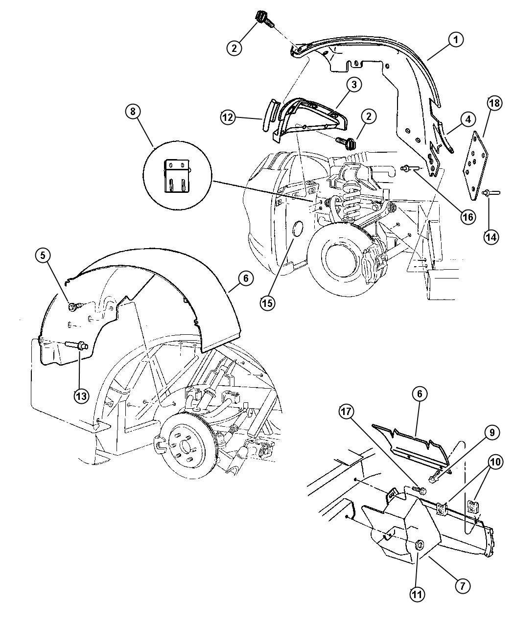 Jeep Wrangler Shield Splash Right