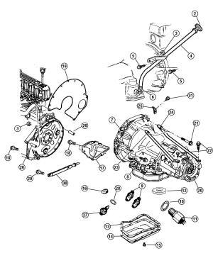 Jeep 42re transmission diagram