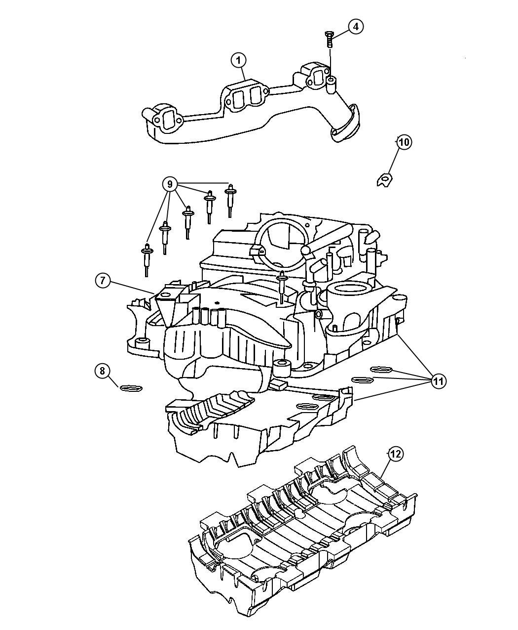 Dodge Ram Exhaust Diagram