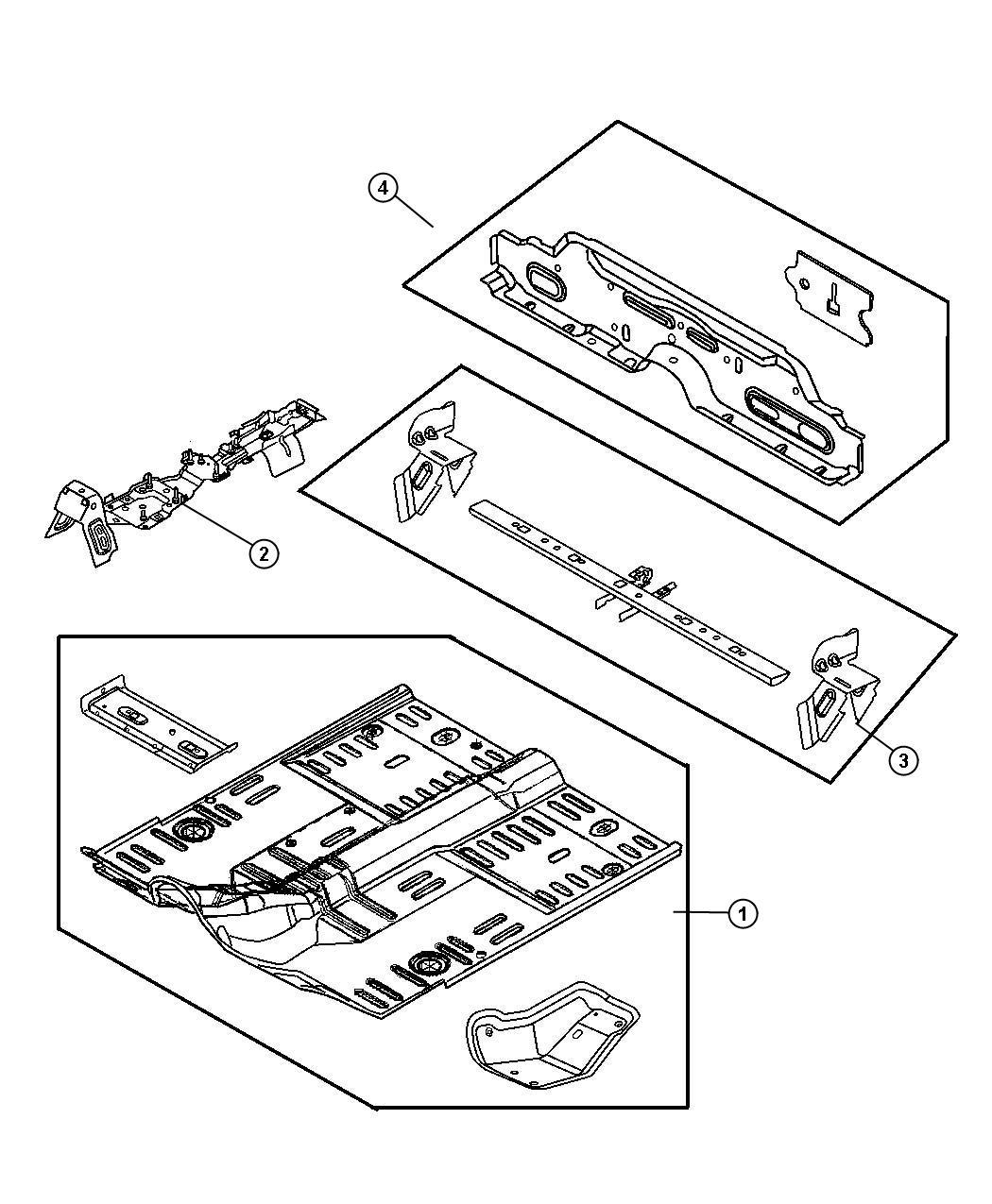 1997 Jeep Wrangler Plug. Floor pan, front, frt flr pan man