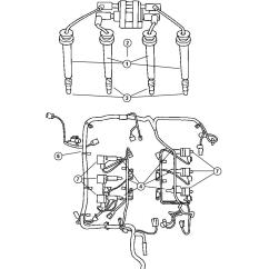2004 Chrysler Pacifica Engine Diagram 99 Toyota Camry Wiring Spark Plugs 3 5