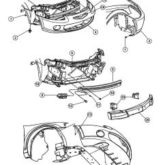 2004 Chrysler Sebring Wiring Diagram Truck Trailer Wire Service Manual Bumper Removal