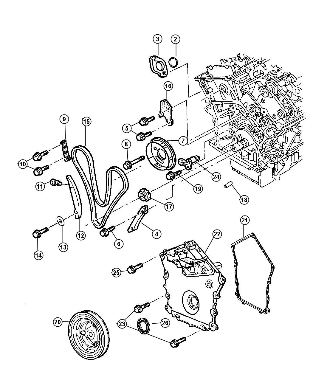 2004 Chrysler Sebring 2 7 Engine Diagram