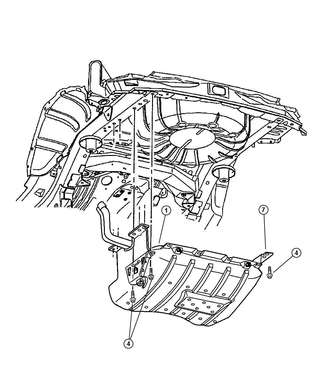 2001 Jeep Grand Cherokee Shield. Fuel tank. Evc, evaerhexa
