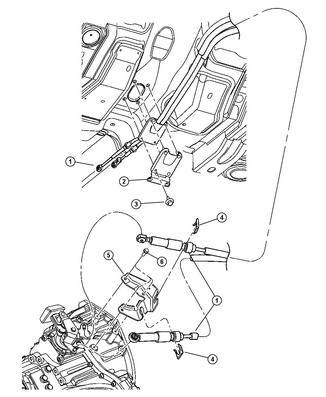 Service manual [Repair Shift Gear Cable For A 2004