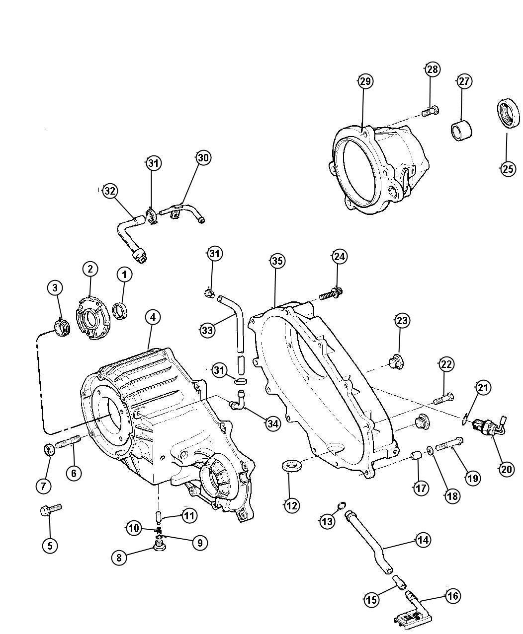 Jeep Liberty Switch. Transfer case mode. 52098899