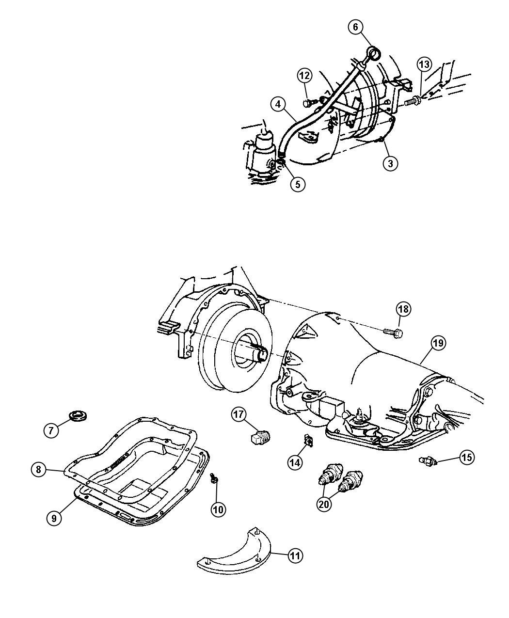 Case And Related Parts 48re Transmission 4 Spd