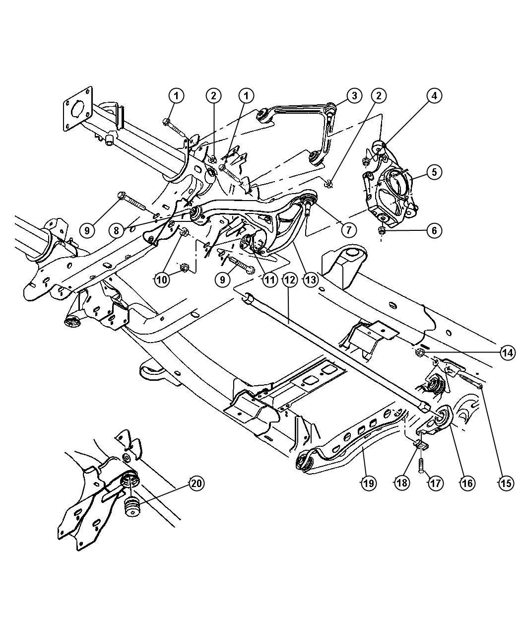 hight resolution of 2014 durango suspension diagram