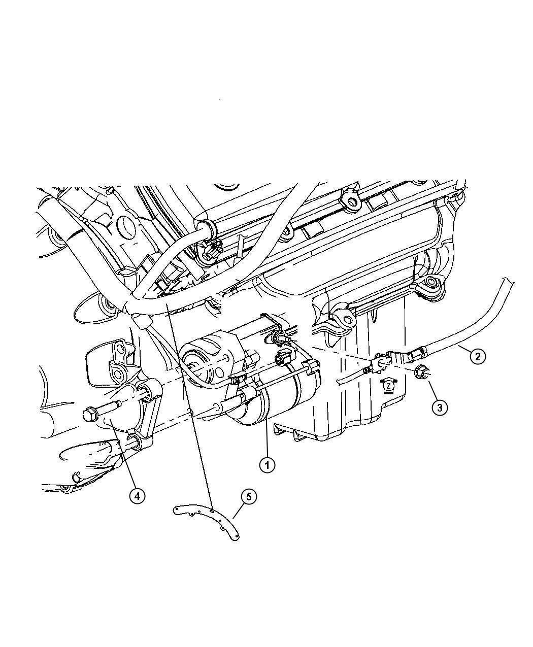 Dodge Magnum Starter Engine