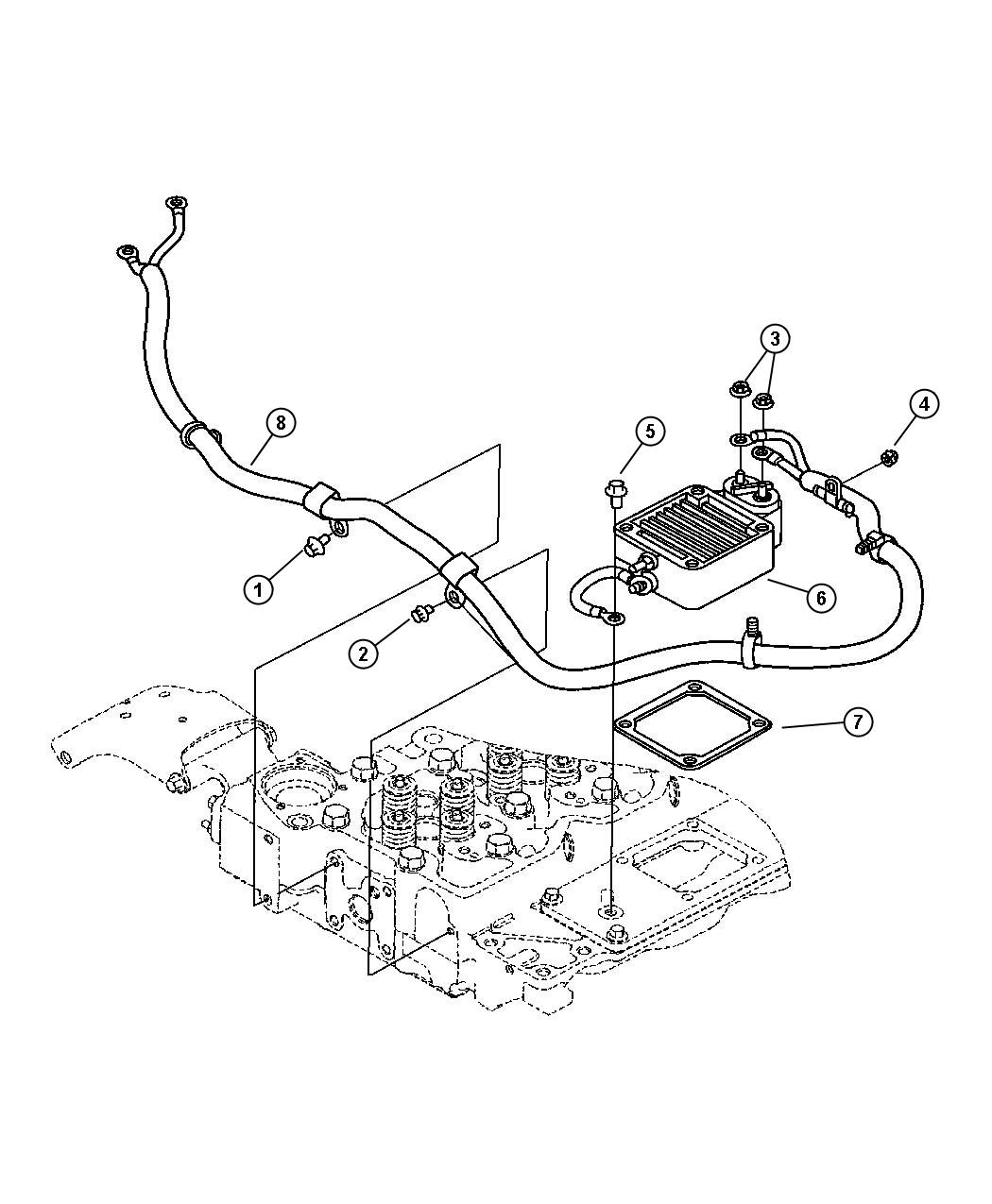 Wiring and Intake Heater Diesel