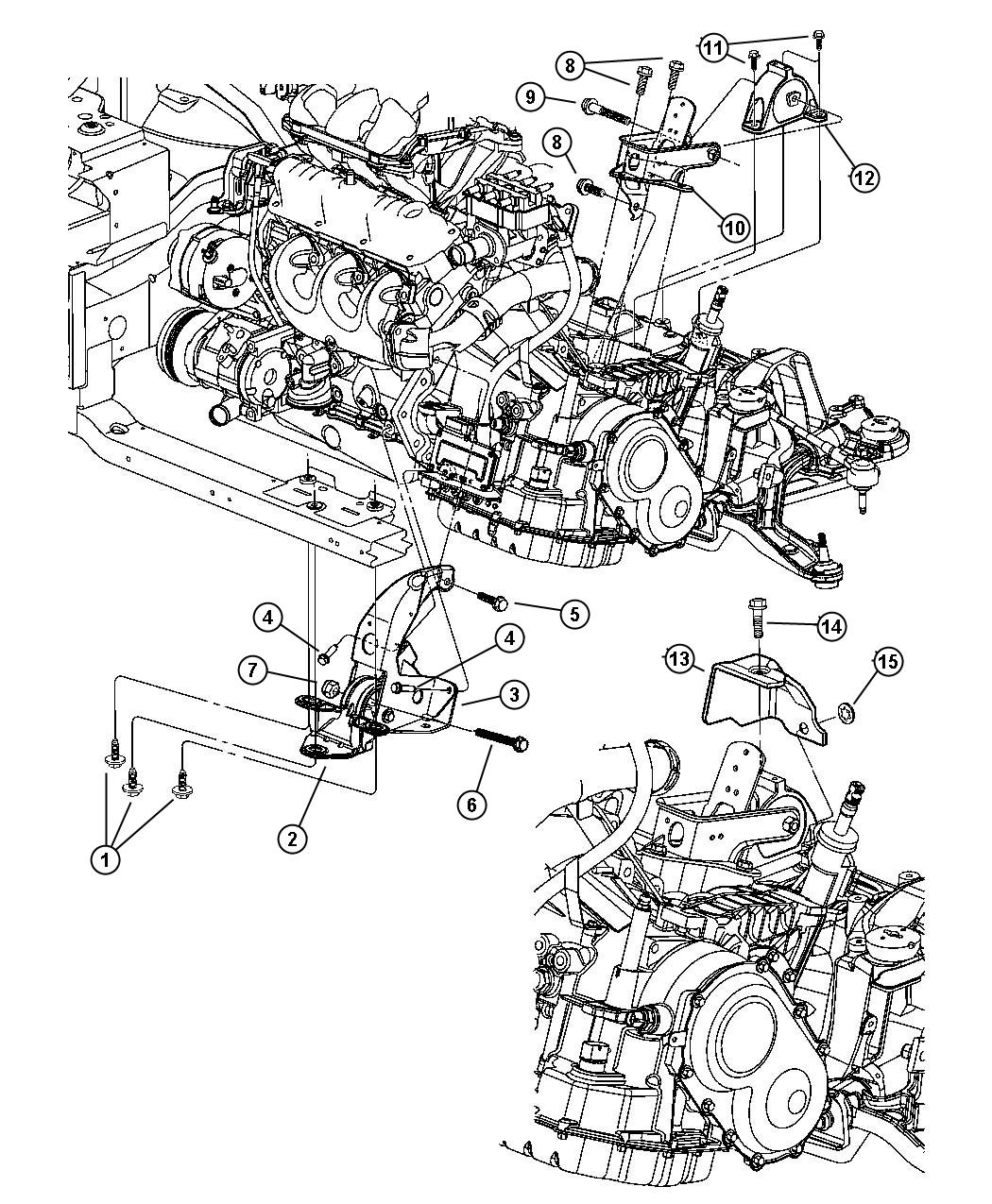 2005 Chrysler Town And Country Cooling System Diagram