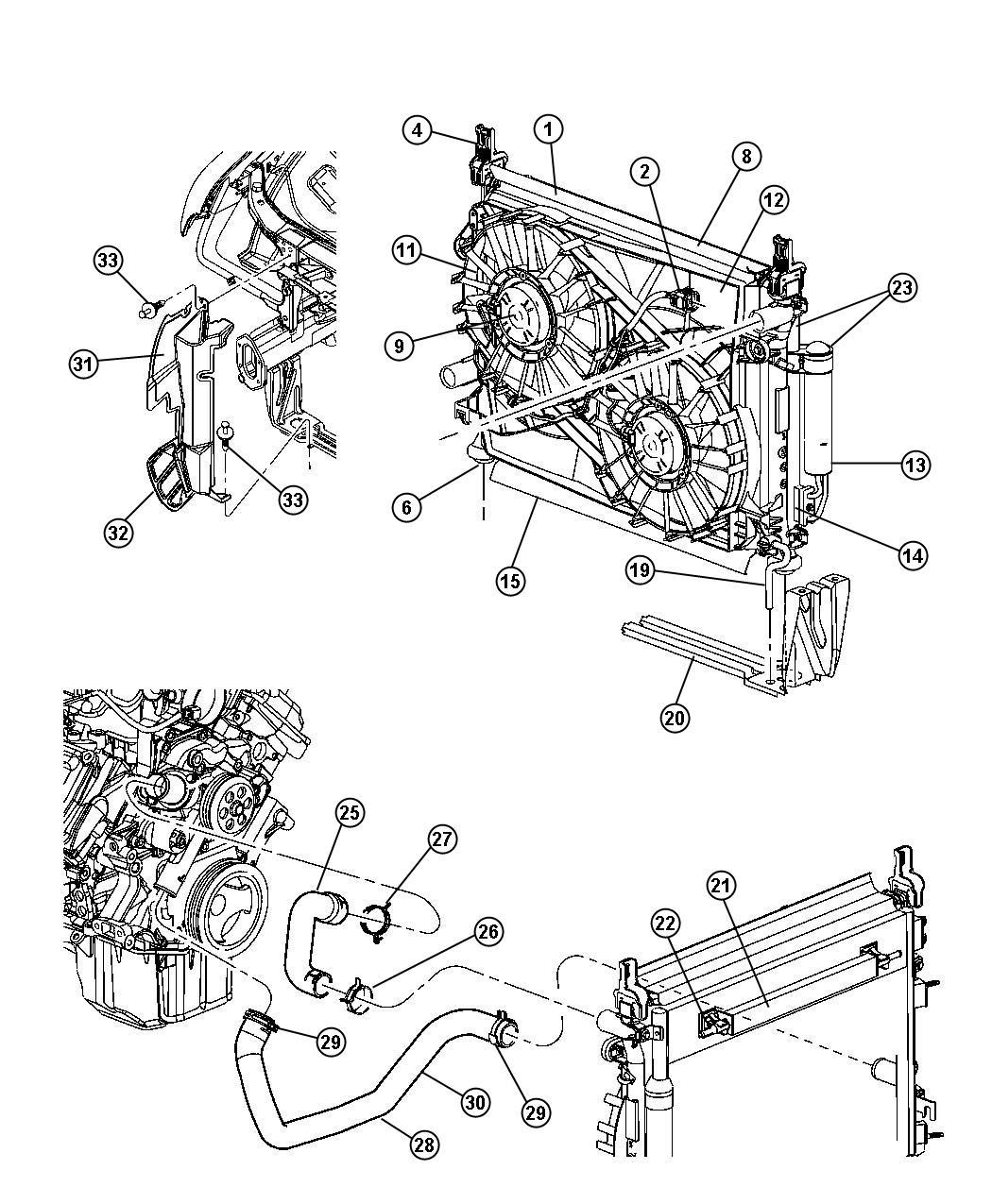 2005 Chrysler 300 Wiring. Fan motor. [nmk], [maximum duty