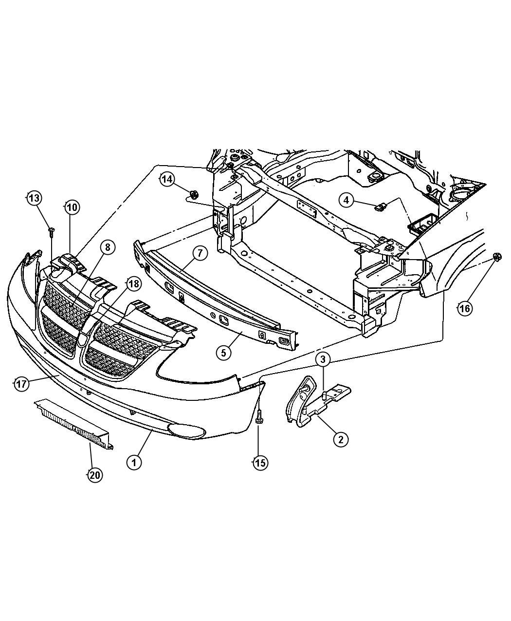 Chrysler town and country suspension parts