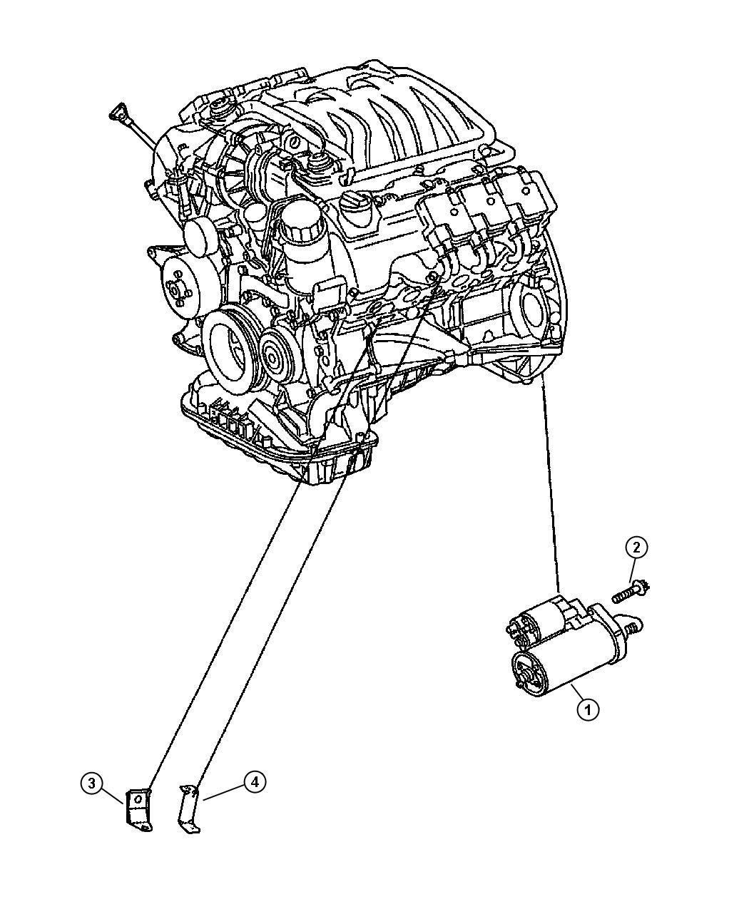 Chrysler Crossfire Starter
