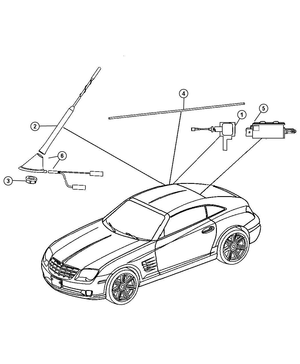 Service manual [2005 Chrysler Crossfire Antenna Repair