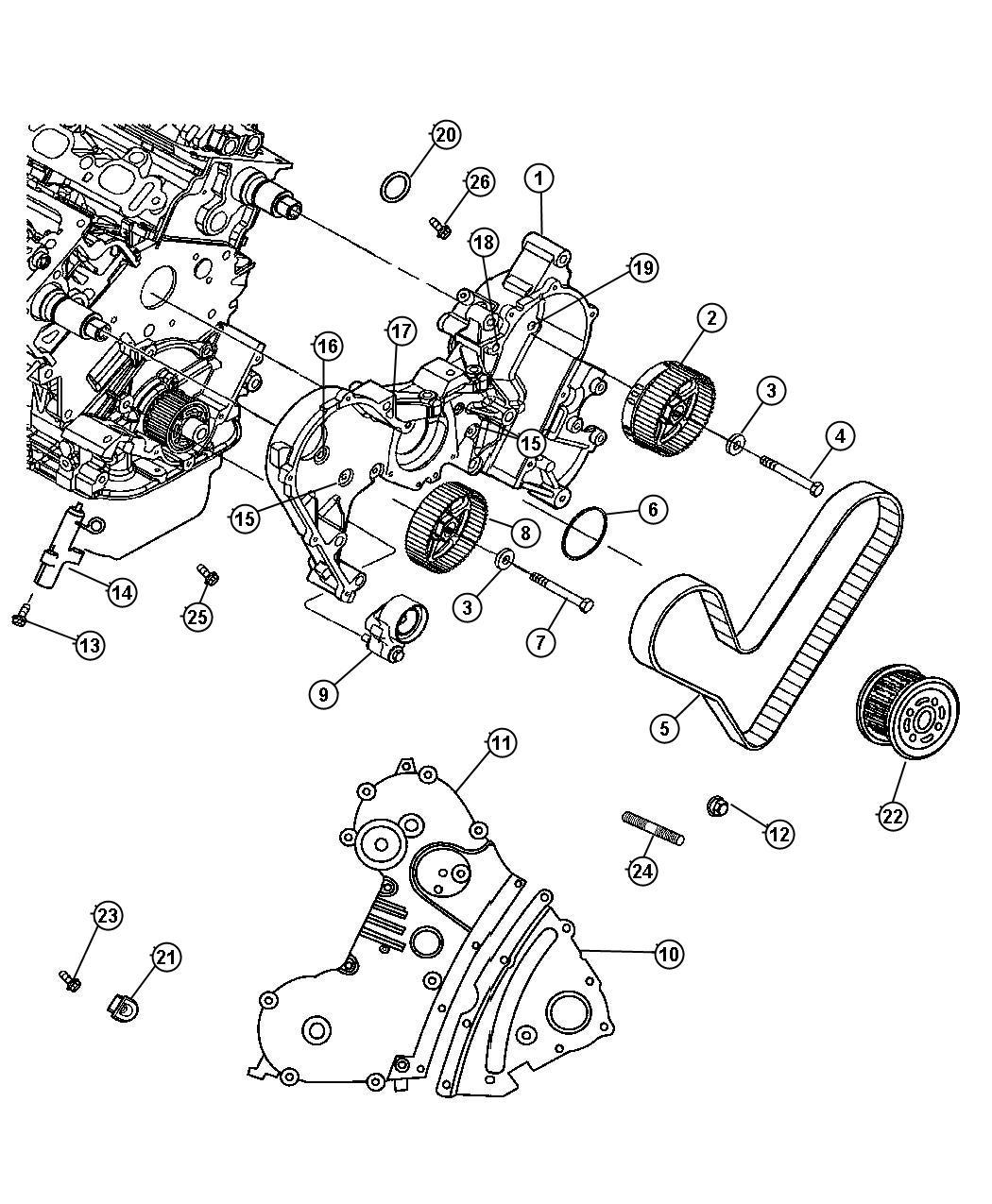 Chrysler Pacifica Awd 3 5l V6 24v Mpi 4 Spd Automatic