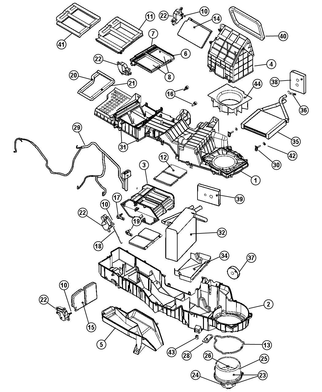 2000 Dodge Ram Heater Diagram, 2000, Free Engine Image For