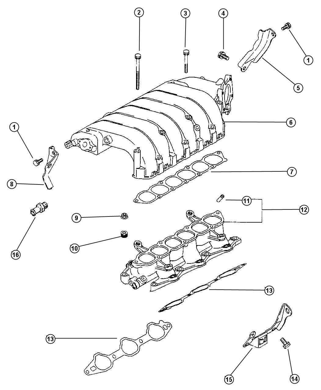 Dodge Stratus Support Eengine Mount Engine Mount