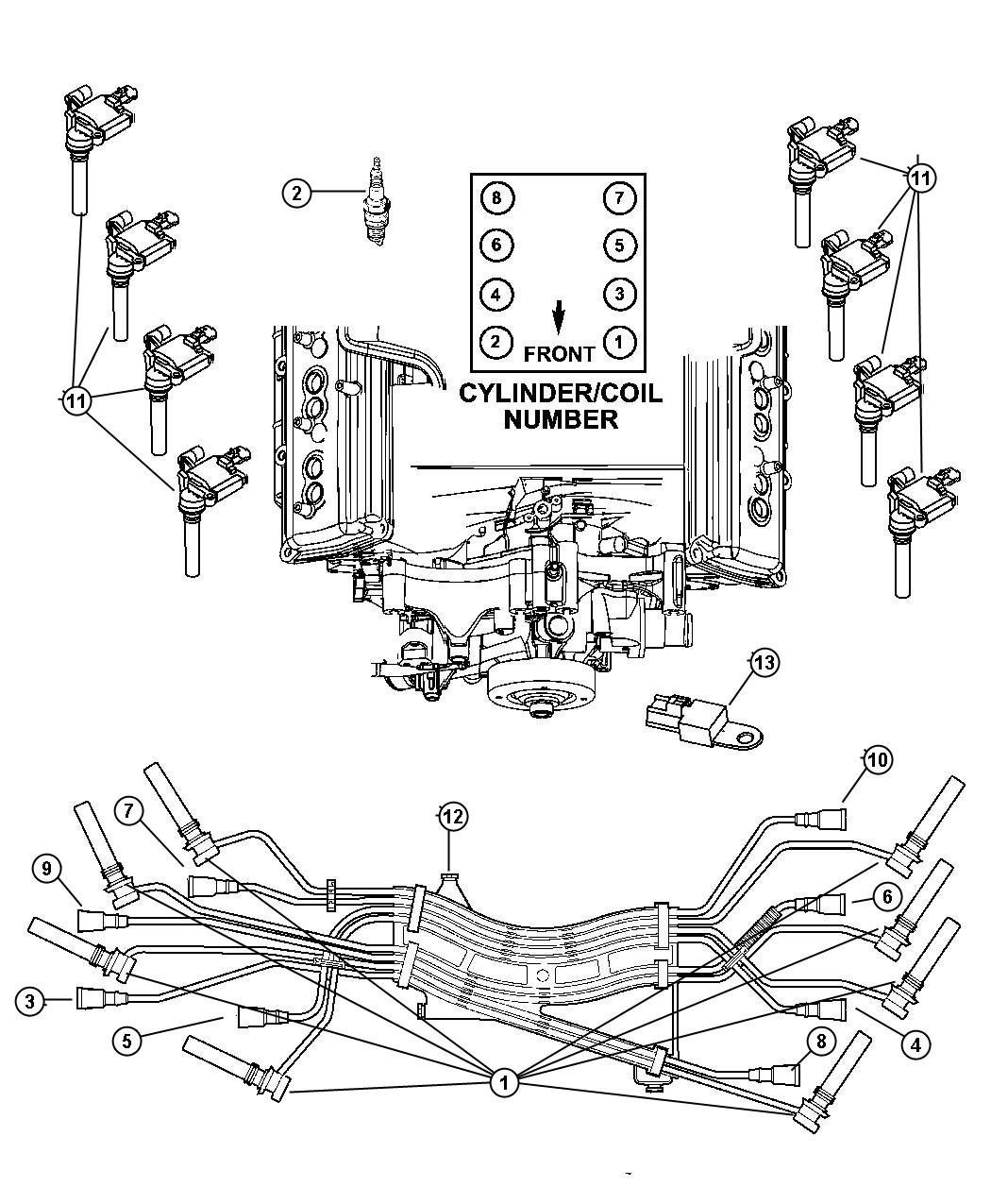 2000 Dodge Durango Vacuum Line Diagram, 2000, Free Engine