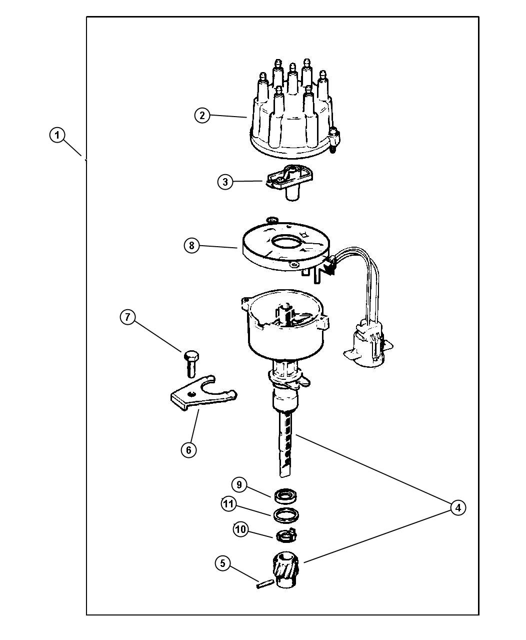 Jeep Engine Diagram Distributor Cap, Jeep, Free Engine