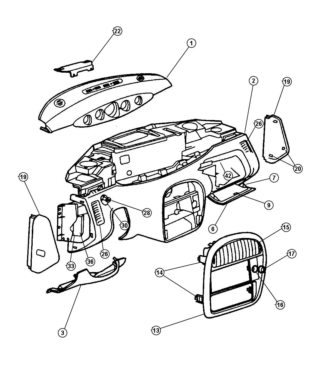Plymouth Prowler Parts Diagram. Plymouth. Wiring Diagram