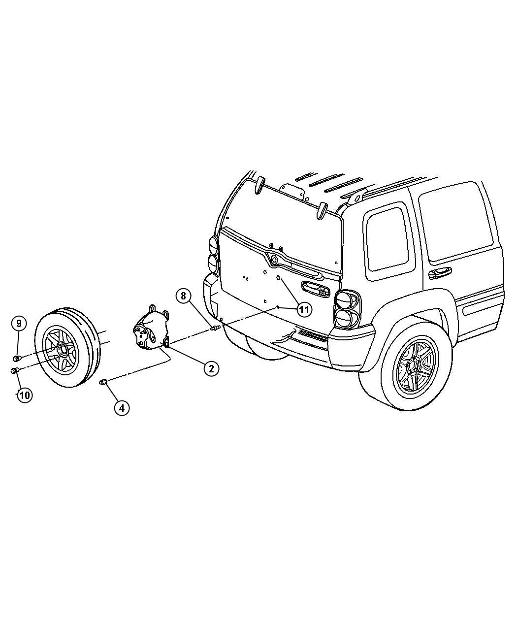 5 Wire Harness Trailer Jeep Liberty