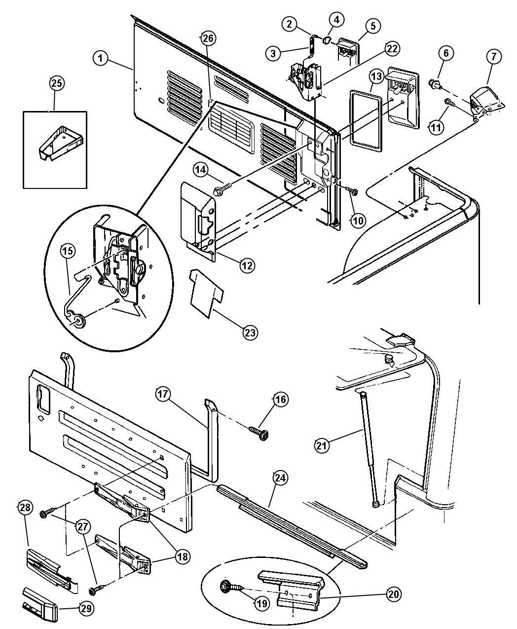 2006 wrangler tj wiring diagram honeywell r8285d jeep commander oem parts auto