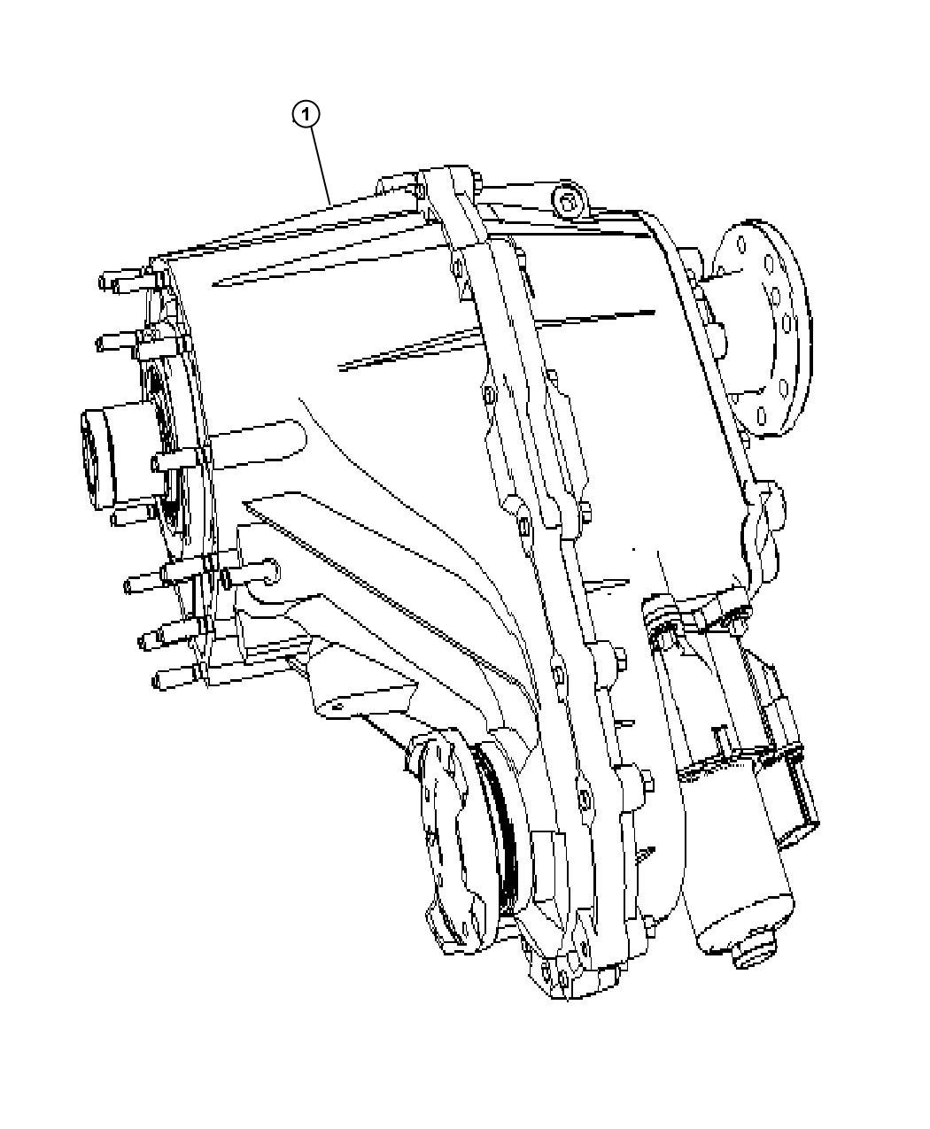 2005 Jeep Grand Cherokee Transfer Case [Quadra-Trac II