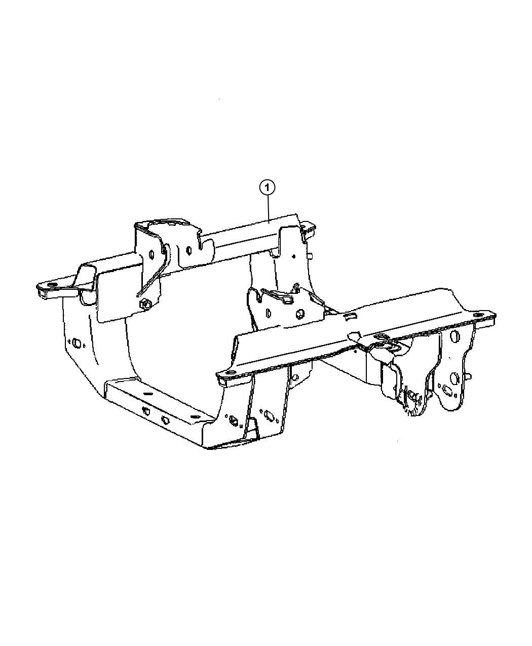 2005 Jeep Liberty Cradle. Front suspension. [all 4 cyl gas