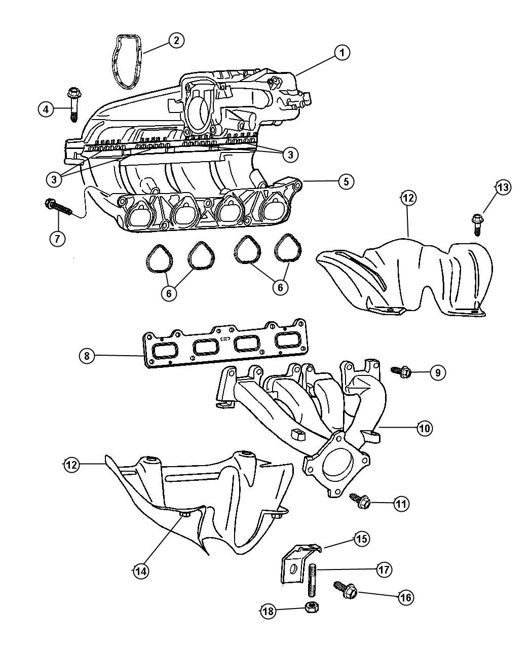 Service manual [2001 Chrysler Pt Cruiser Intake Removal