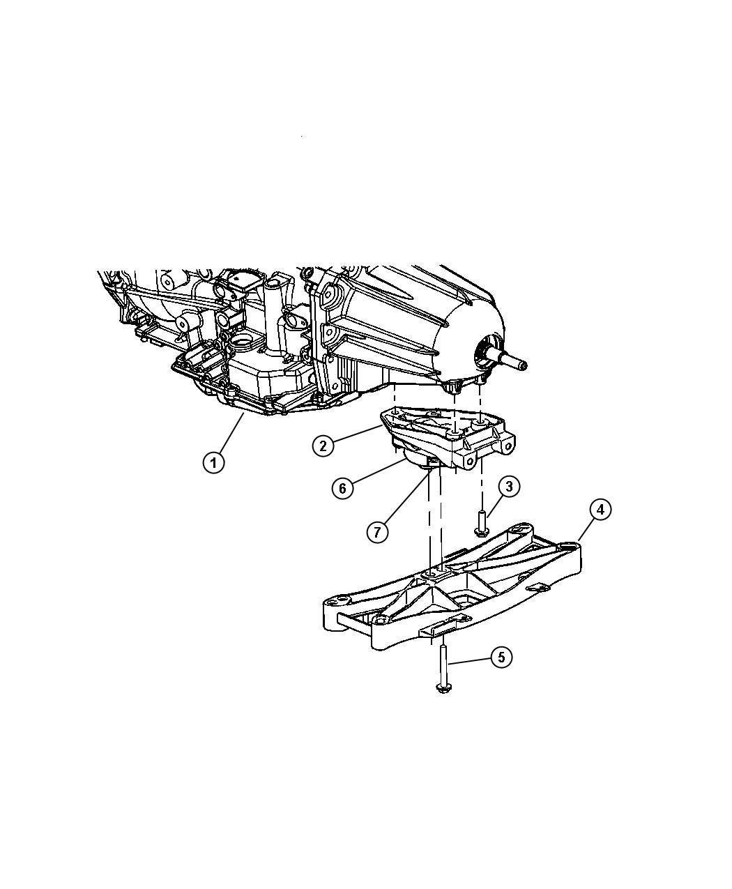 Dodge Charger Mount Transmission