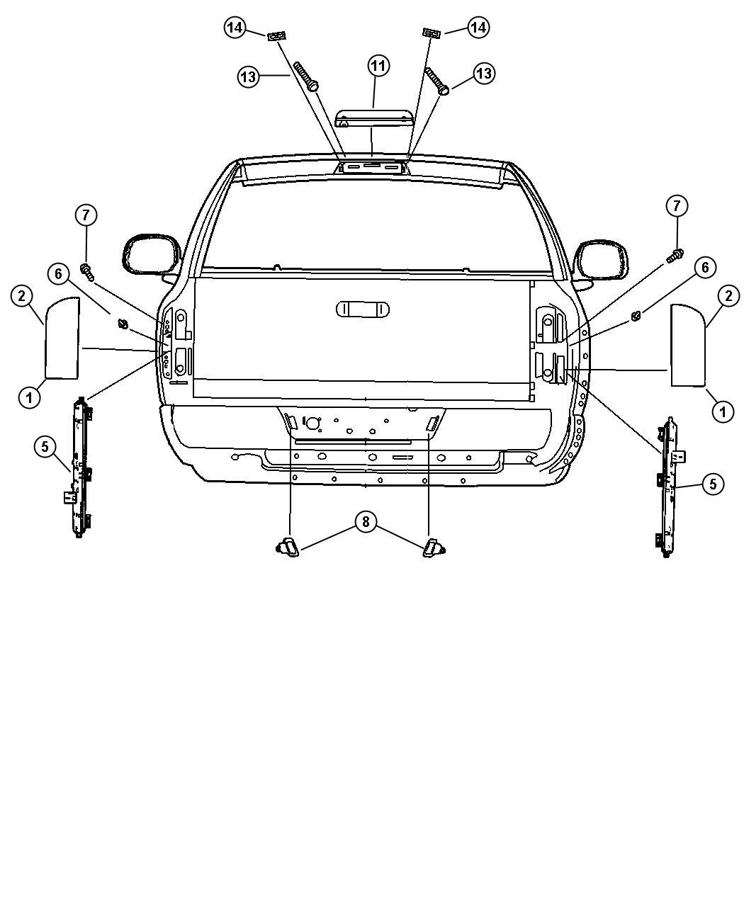 Lamps Rear